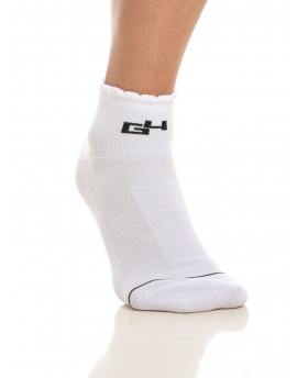 CYCLING SOCKS WOMEN WHITE