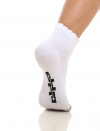 Chaussettes vélo femme Luxe Blanches