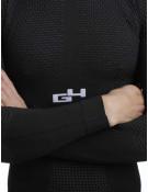 Sous-maillot Hiver Unisex Manches Longues Noir