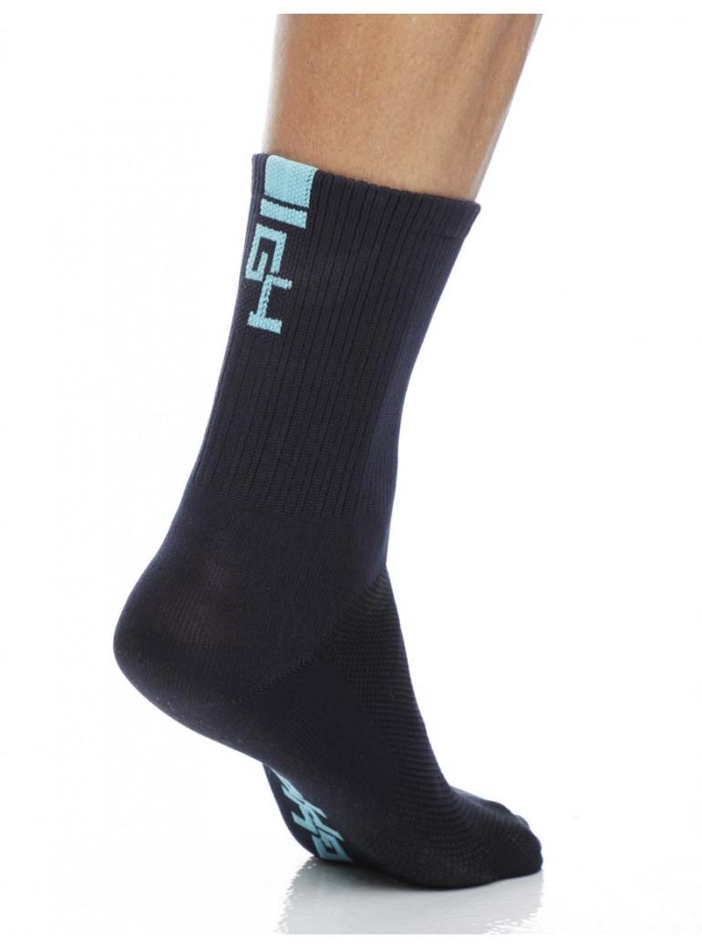 Navy Bleu Man Socks