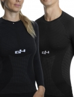 Skin Jersey Long Sleeves Winter Black