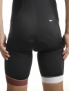 MEDITERRANEAN BIBSHORT CYCLING BURGUNDY