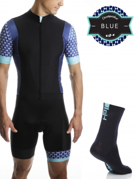 PACK CYCLISME DISTINGUISHED BLUE