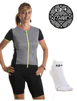 PACK ETHNIC CYCLISME FEMME
