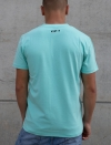 T-SHIRT TURQUOISE HOMME