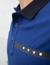 DARK BLUE POLO MEN