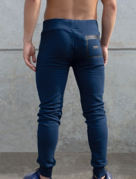 PANTALON DE SURVETEMENT BLEU