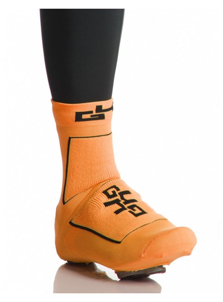Couvre Chaussures Mi-Saison Orange Fluo