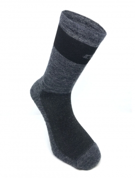 CYCLING MERINO SOCKS THERMO GREY