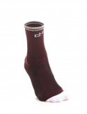 MEDITERRANEAN CYCLING SOCKS BURGUNDY