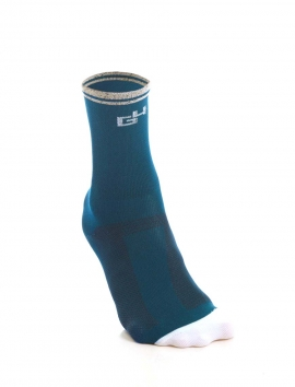 MEDITERRANEAN PETROL BLUE CYCLING SOCKS