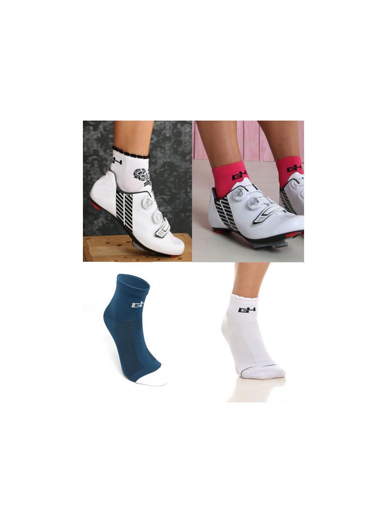 Pack chaussettes cycliste femme