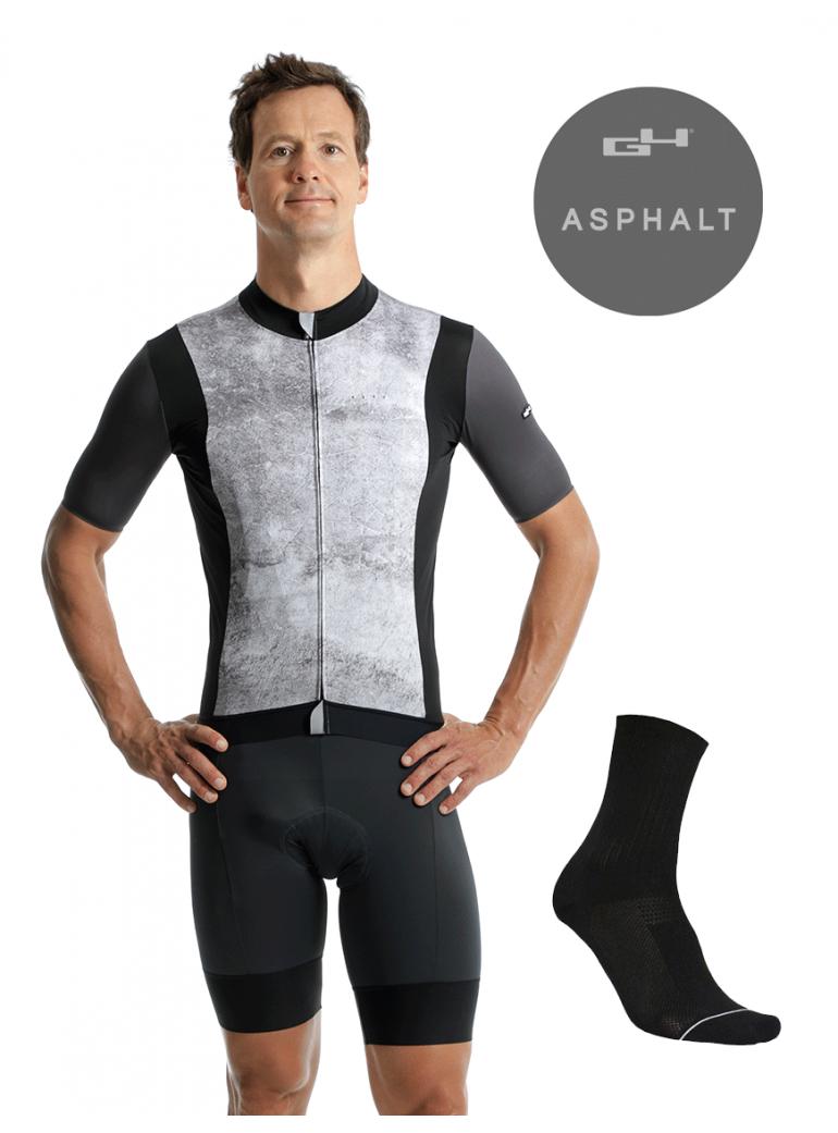 Pack Asphalt cyclisme homme