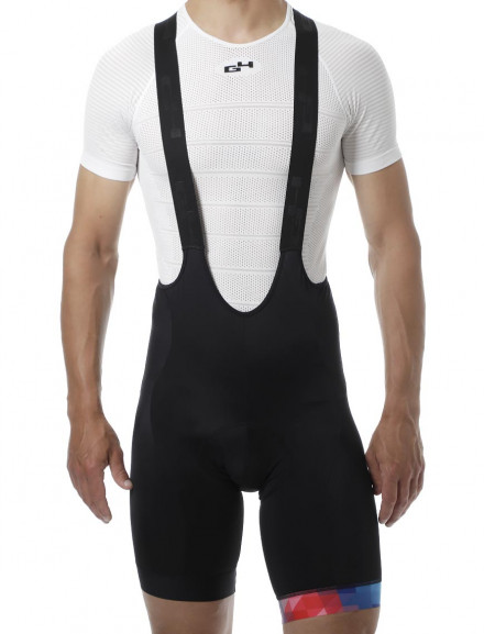 HIPSTER 2.0 MEN'S PATTERN BIB SHORT