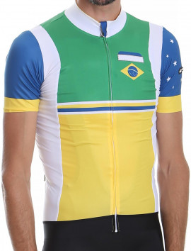 Men's cycling jersey Brazil National