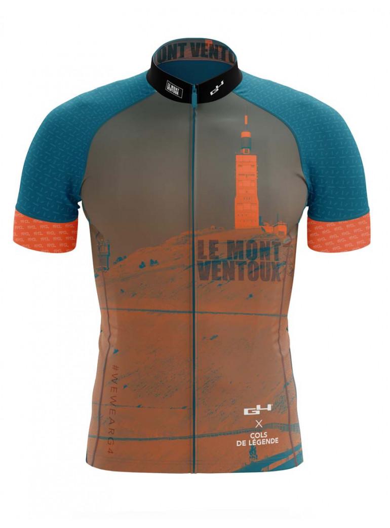 Maillot G4 x Cols de Légende : Mont Ventoux