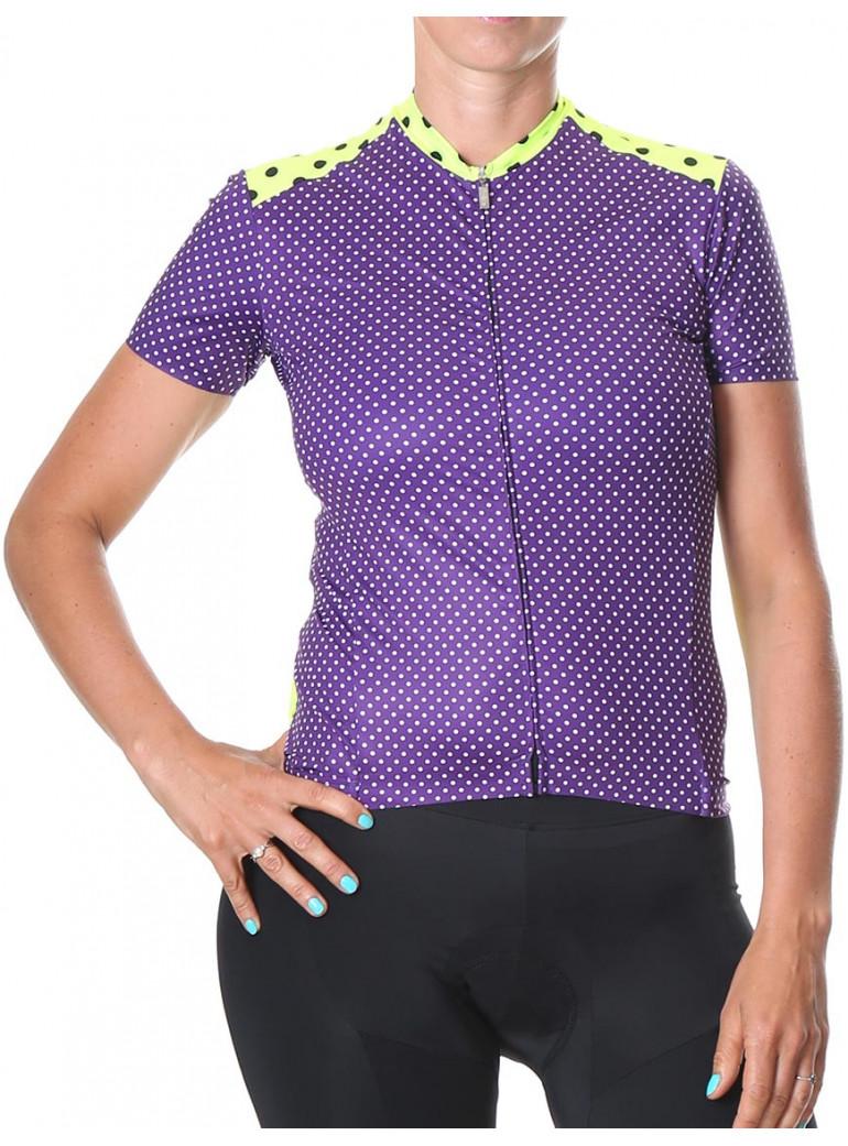 Women's purple jersey Simply