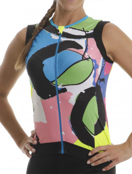 ART JERSEY SLEEVELESS WOMAN