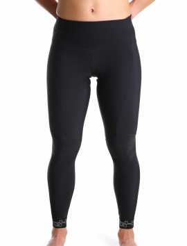 Women's black cycling tights
