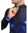 MAILLOT DE CYCLISME MANCHES LONGUES BLUE MOTION