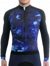 BLUE MOTION LONG SLEEVES CYCLING JERSEY
