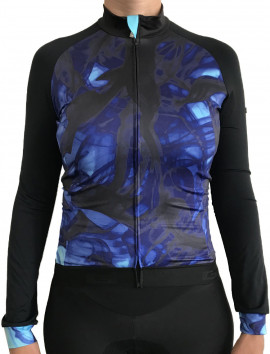 MAILLOT MANCHES LONGUES BLUE MOTION FEMME