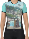 NICE COLLECTOR WOMAN CYCLING JERSEY