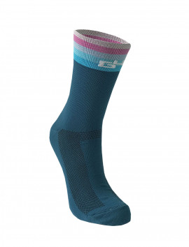 CHAUSSETTES BLEUES CYCLING CLUB ATTITUDE
