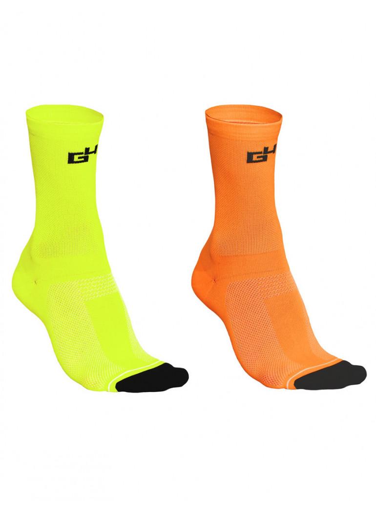 Pack chaussettes fluorescentes