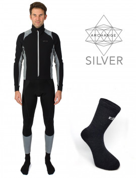 PACK HIVER CYCLISME ARCHANGE SILVER