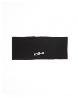 BLACK WINTER BIKE HEADBAND