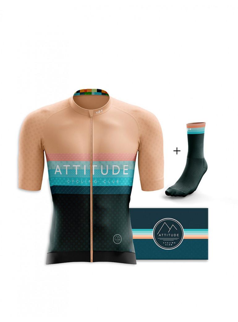 ADHÉSION PUNCHEUR ROSE ATTITUDE CYCLING CLUB