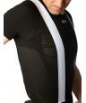 Black short sleeve undershirt