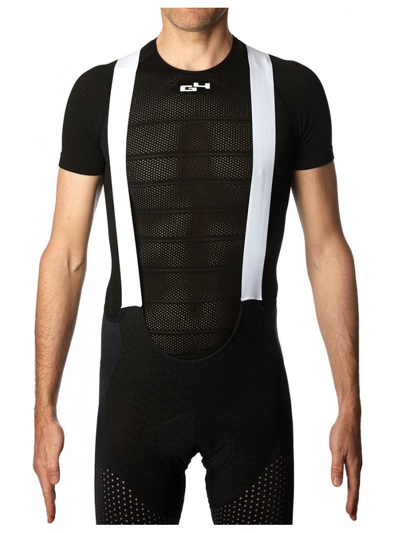 Short-sleeved black base layer