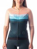 ATTITUDE CYCLING CLUB FEMME MAILLOT ROSE