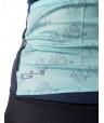 Blue Woman cycling Jersey G4 X La planche des belles filles