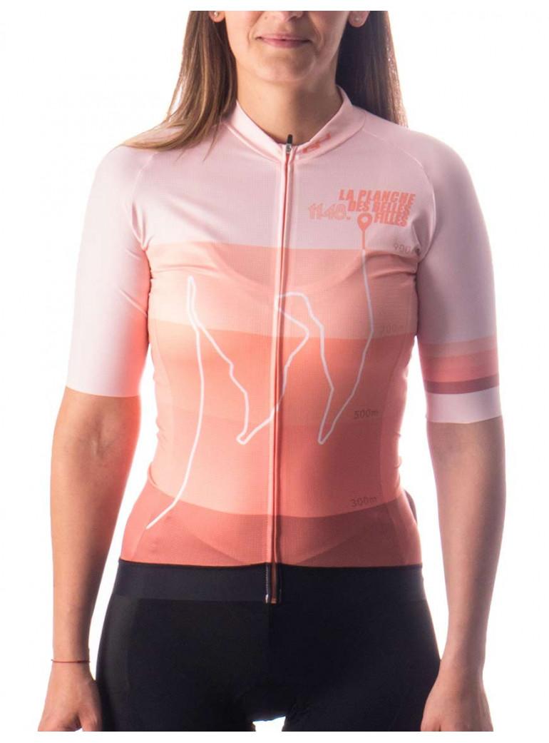 Pink Woman cycling Jersey G4 X La planche des belles filles