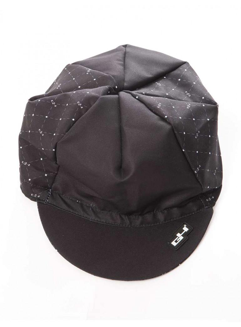 BLACK CYCLING CAP