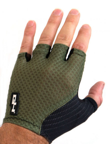 SUMMER AERO CYCLING GLOVES OLIVE GREEN