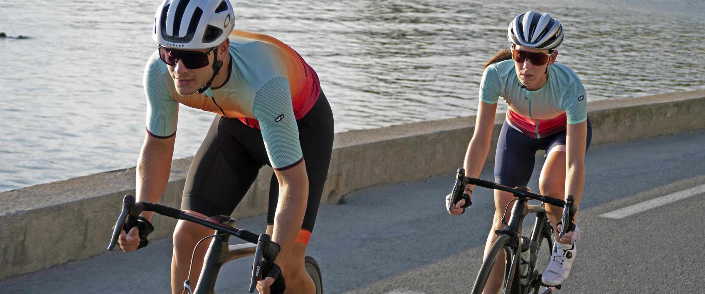 Banniere tenues de cyclisme Sunwave