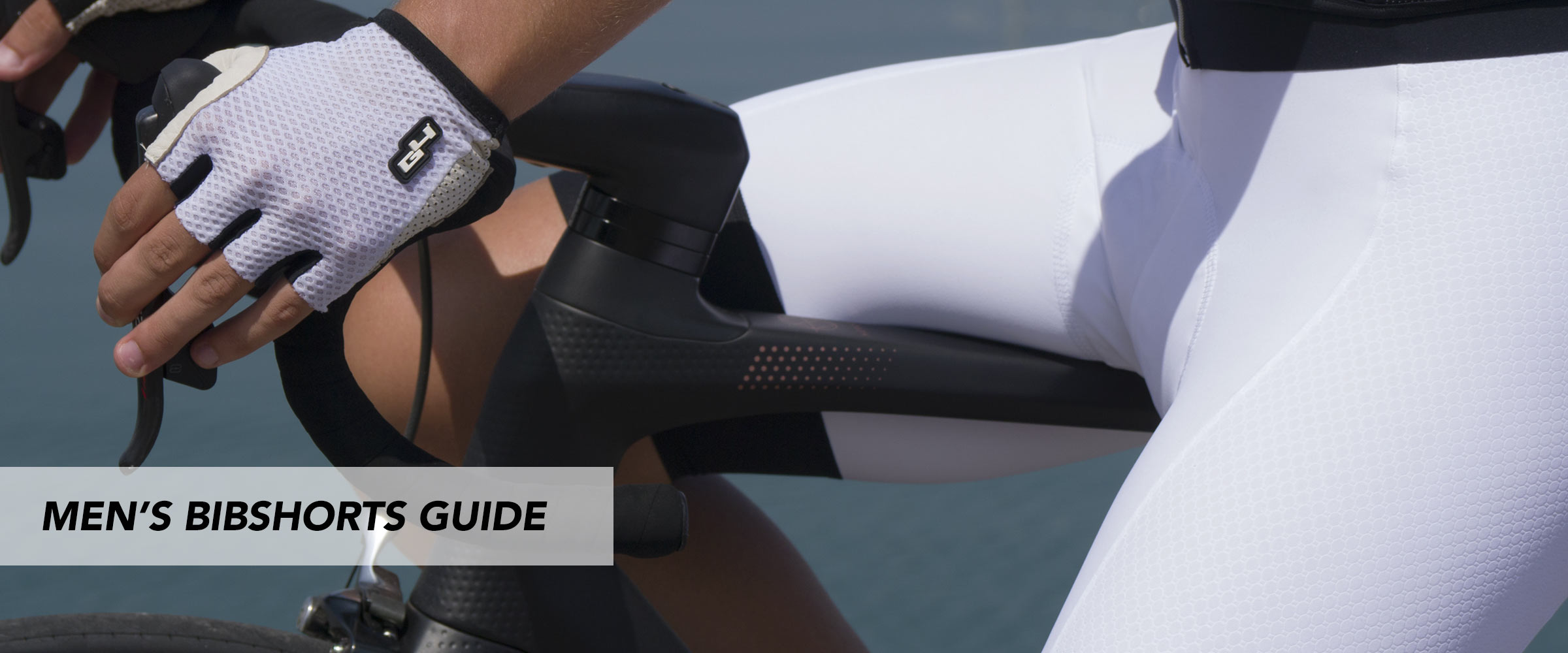 man cycling bibshort guide