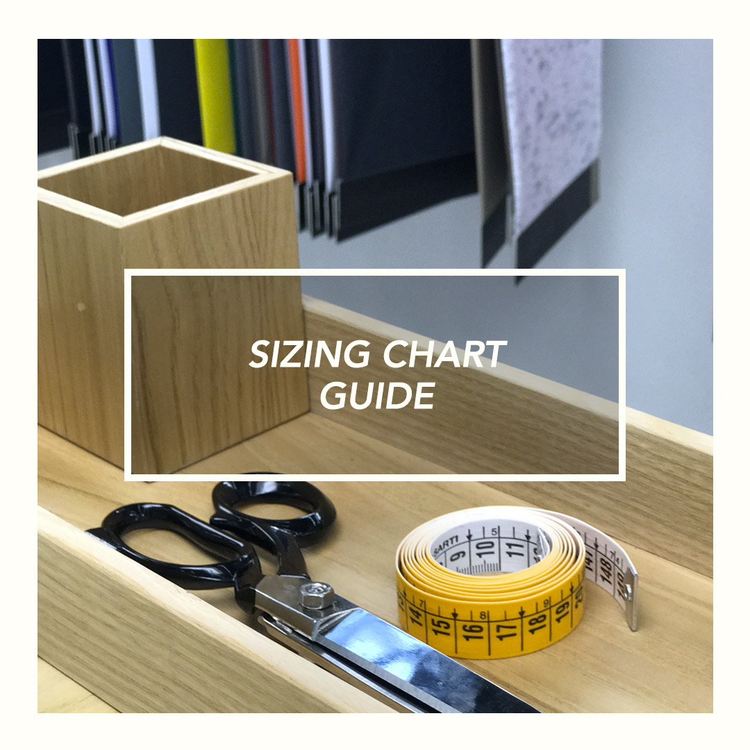 sizing chart guide